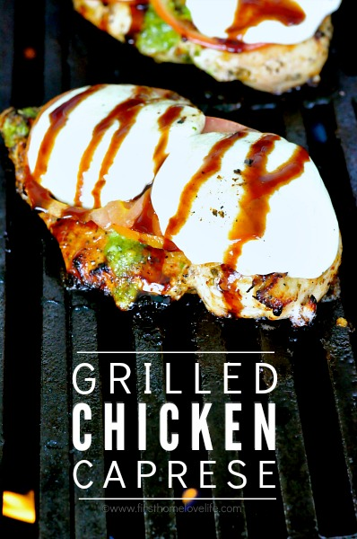 grilled chicken caprese via first home love life