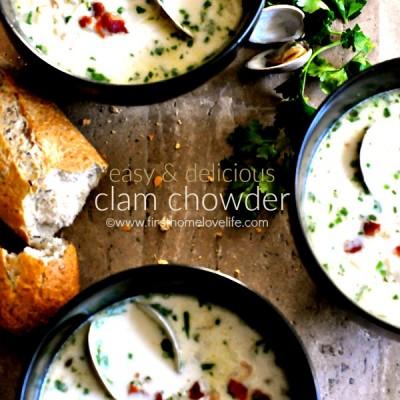 Easy Clam Chowder
