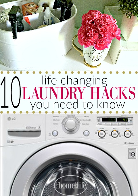 10 Life Saving Laundry Hacks You Need To Know! www.firsthomelovelife.com