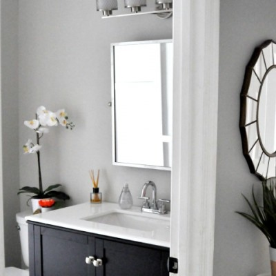 Bathroom Makeover: Final Reveal