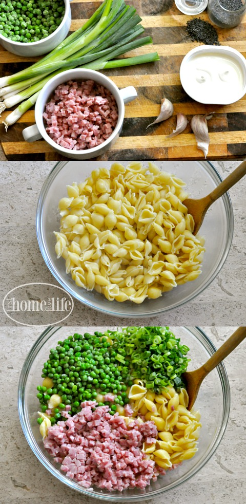 the most delicious pasta salad with 6 simple ingredients via www.firsthomelovelife.com