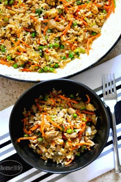 15 Minute Pork Fried Rice