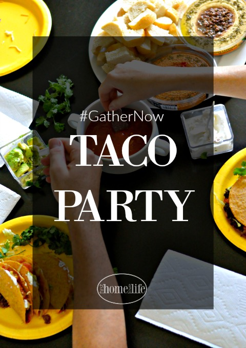 Host a Simple Taco Tuesday Party via www.firsthomelovelife.com