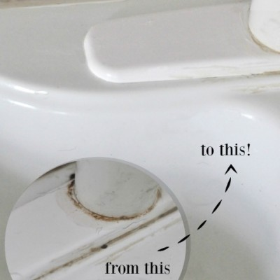 How to Clean Gunk Off Faucets
