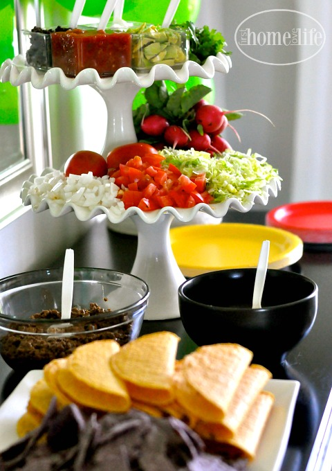 taco bar via firsthomelovelife.com