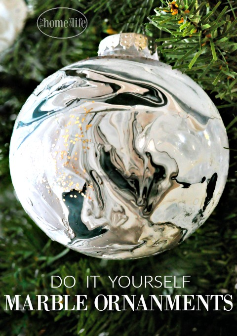 Diy Marble Ornaments First Home Love Life