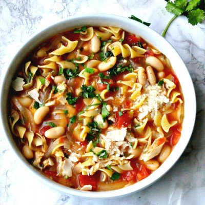Italian Style Chicken Noodle Soup