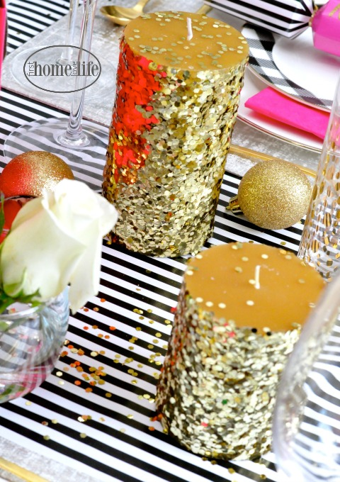confetti-candles-diy-kate-spade-party-ideas-via-firsthomelovelife-com