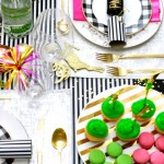 Celebrate the season with your closest girlfriends by throwing a Kate Spade inspired holiday party