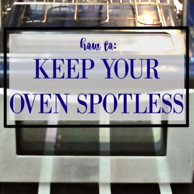 How to: Clean An Oven Easily