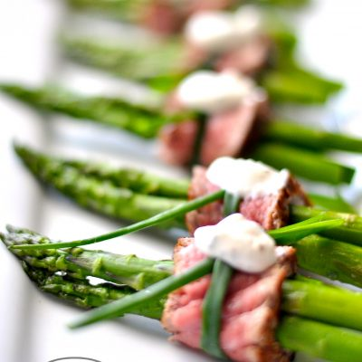Filet Mignon Wrapped Asparagus