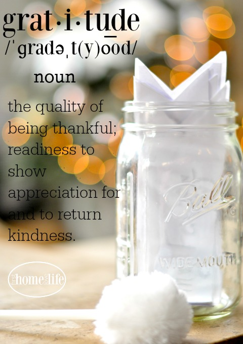 the quality of being thankful; readiness to show appreciation for and to return kindness.