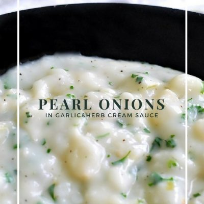 Creamed Pearl Onions