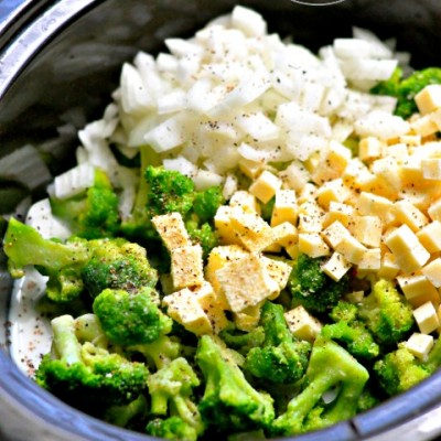 White Cheddar Broccoli Soup