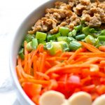 spice up your salad routine with this delcious lettuce wrap chopped salad! via firsthomelovelife.com