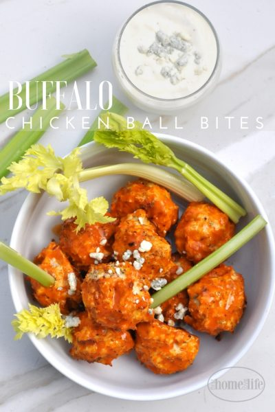 Buffalo Chicken Ball Bites