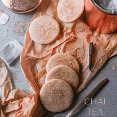 Chai Tea Sugar Cookies