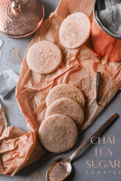 Chai tea sugar cookie recipe via firsthomelovelife.com