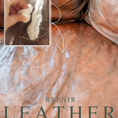 How to Repair Leather Easily