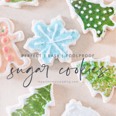 How to Make the Perfect Sugar Cookies