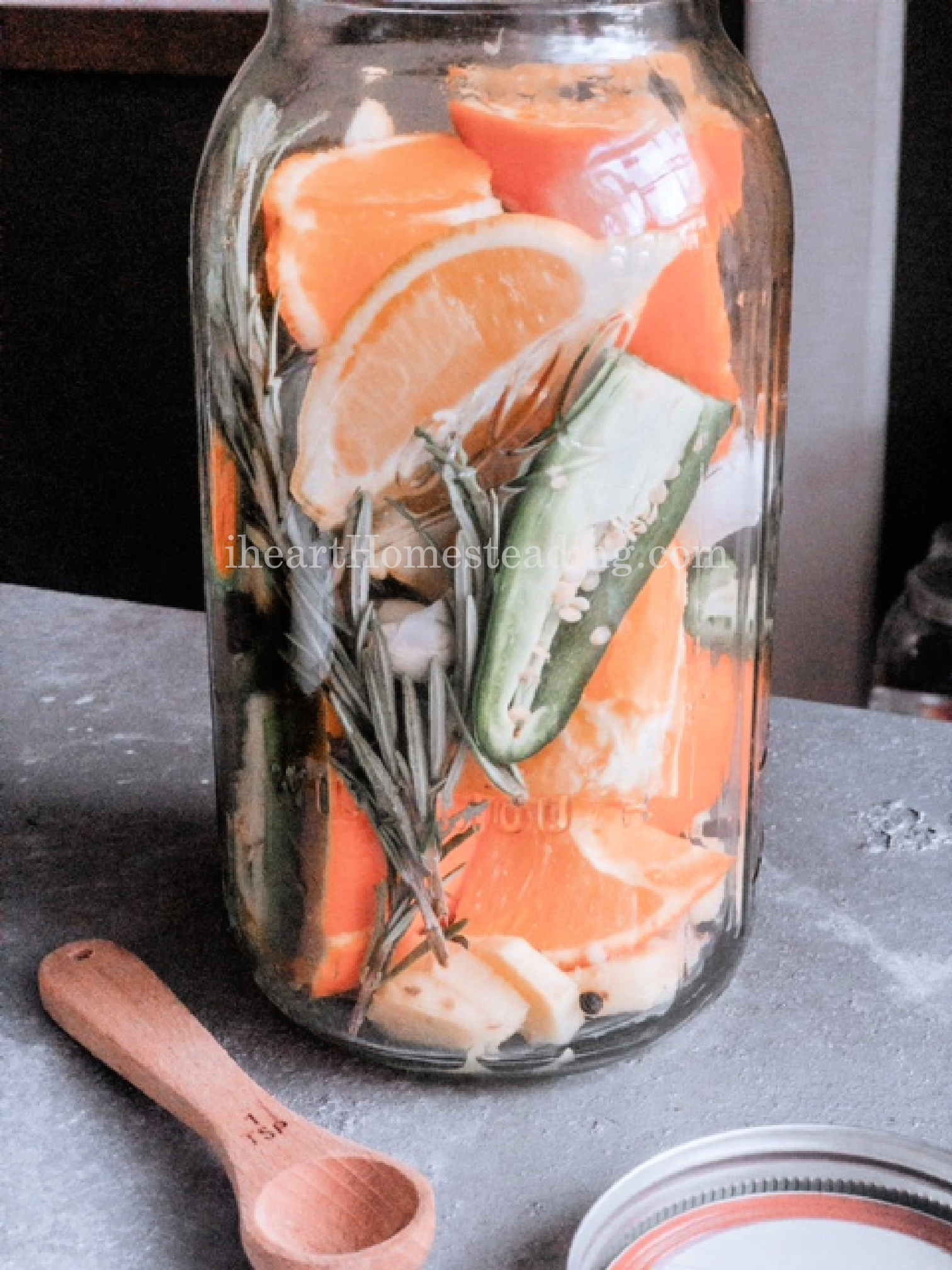 How to make immunity boosting FIRE CIDER tonic perfect for fighting off cold and flu season